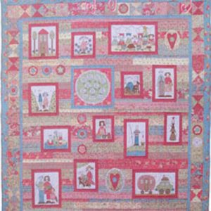 A FAMILY GATHERING quilt pattern