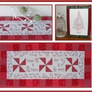 A Pear of Partridge Table Runner