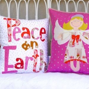 ANGEL DELIGHT two cushion patterns