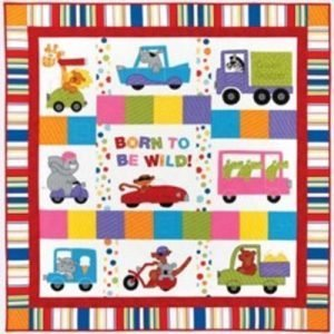 BORN TO BE WILD quilt pattern