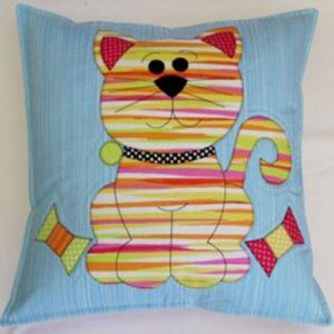 COTTON KITTY quilt and cushion pattern