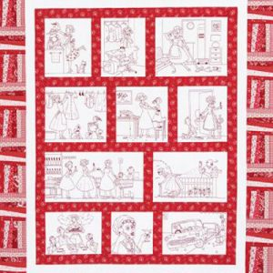 DOMESTIC BLISS quilt pattern