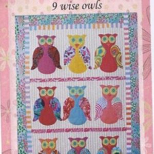 WISE OWLS QUILT pattern