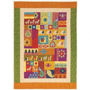 INDIAN ORNAMENT quilt pattern