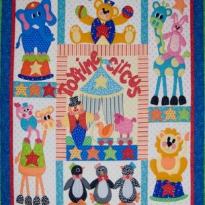 TOYTIME CIRCUS quilt pattern