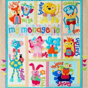 MY MENAGERIE quilt pattern