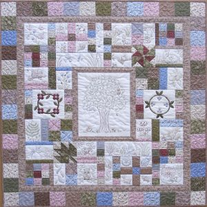 NATURE'S GIFTS quilt pattern set