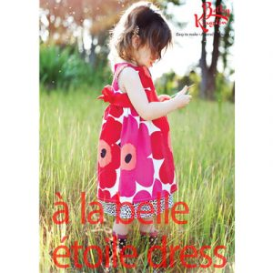 OUTDOOR DRESS pattern sizes 2-7yrs