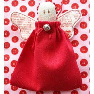 QUICK CHRISTMAS ANGEL pattern card or kit