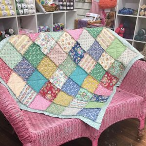 PATCHWORK ANGEL SHABBY QUILT pattern or kit