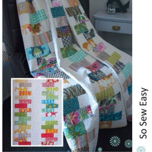 STACK IT UP QUILT pattern card