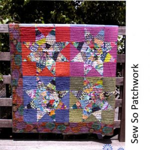 STAR GAZING QUILT Pattern and Template
