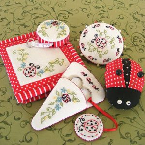 STITCHING BUGS sewing collection pattern